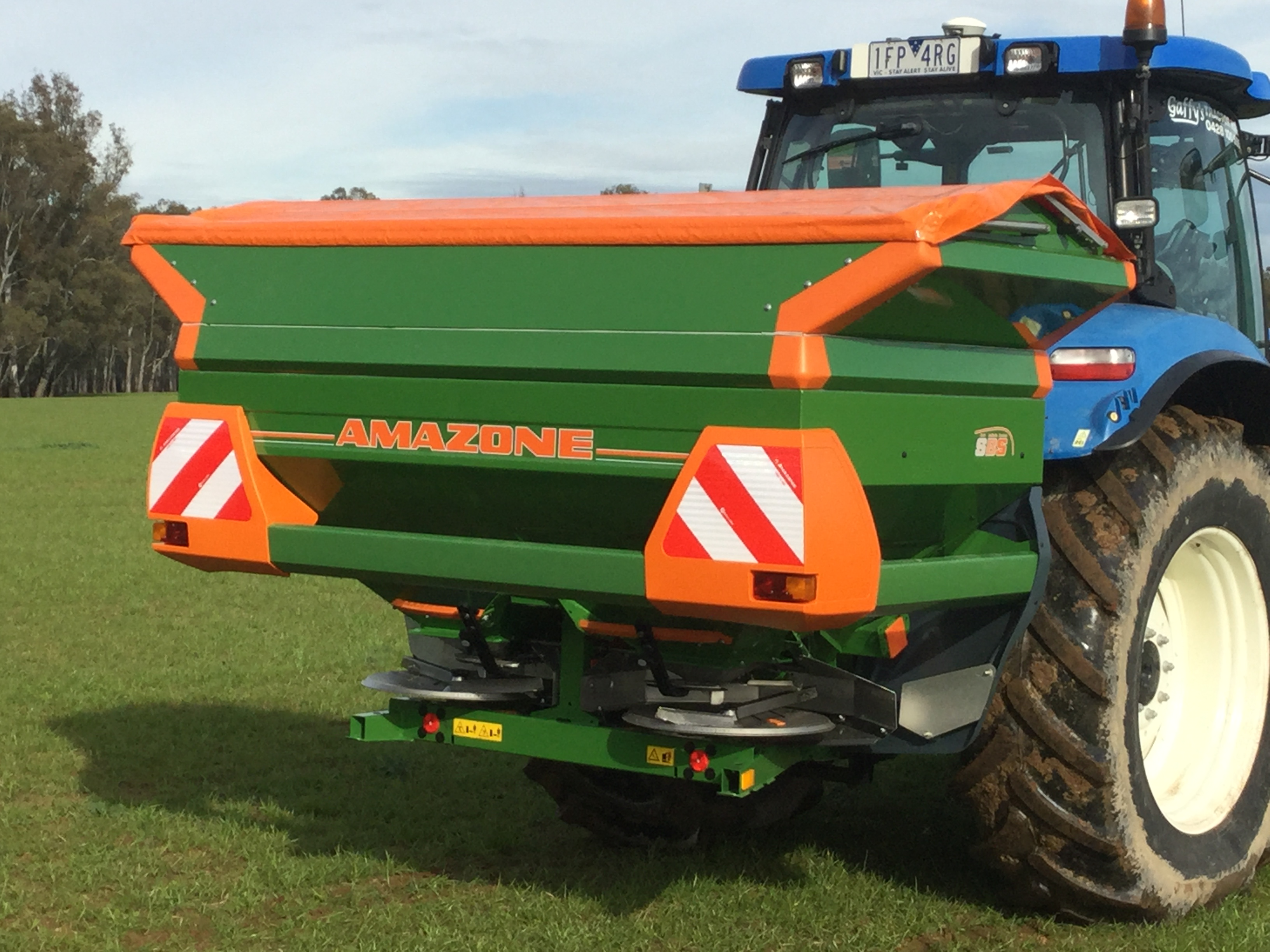 Amazone Fertilizer Spreader
