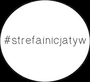 Logo Fundacji - napis #strefainicjatyw