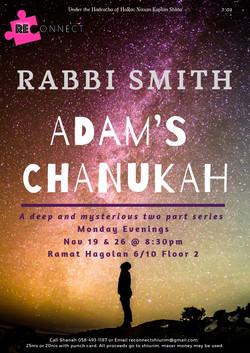 ADAM'S CHANUKAH