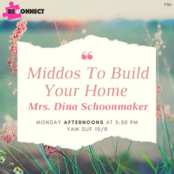 Copy of Middos To Build Your Home Mrs