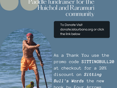 Four Arrows Stand-Up Paddle fundraiser for the Huichol and Raramuri community