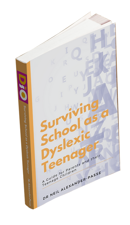 Surviving School as a Dyslexic Teenager