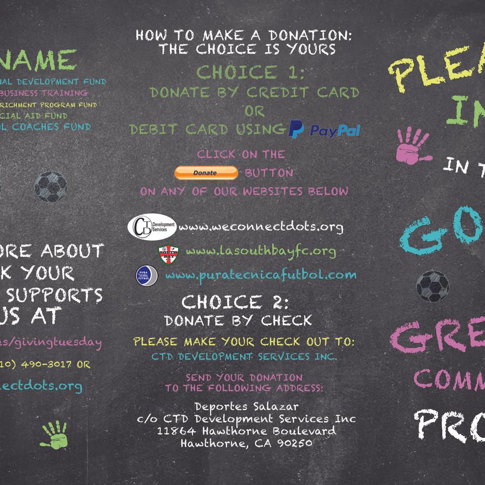 Good Kids Great Communities Project flyer (Outside)