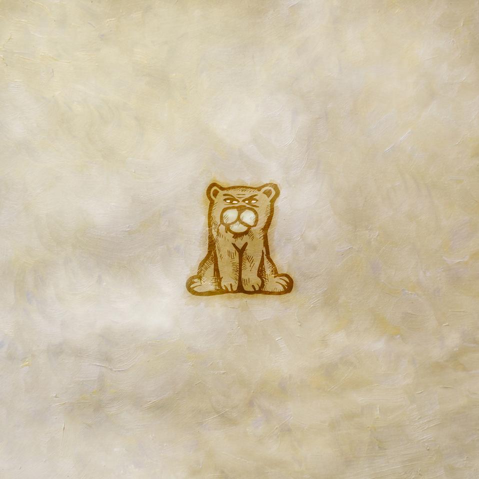 Bear graphic art piece