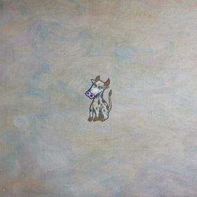 Cow graphic art piece
