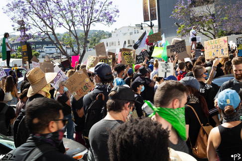BLM Hollywood Protest