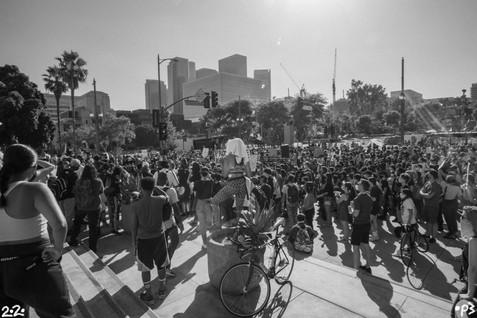 Los Angeles City Hall BLM Protest