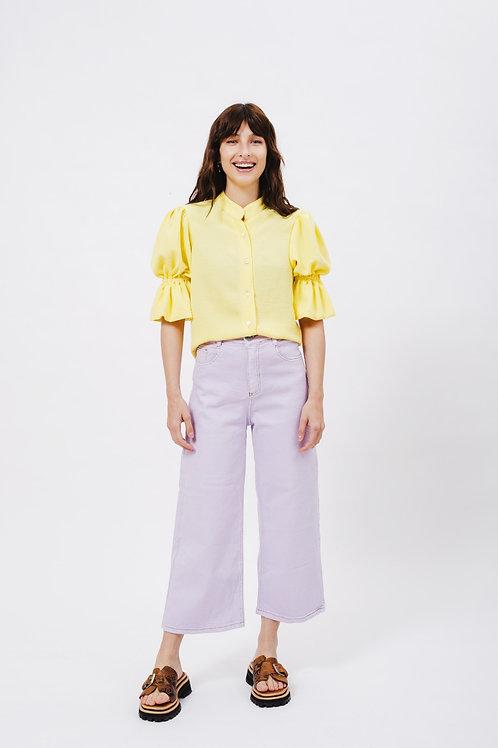 Camisa Fulgor amarilla