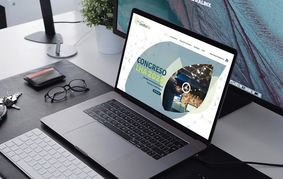 Website Fundación LHA