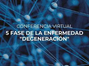 Conferencias virtuales - 5 fases de la enfermedad