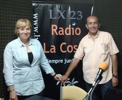Carlos Azuaga y Claudia Fuertes