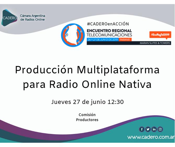 Encuentro Regional de Telecomunicaciones - CADERO