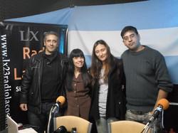 Mariano, Helen y Sebastian Escobar