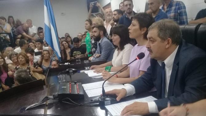 El concejal Fabio Baez es el nuevo presidente del Concejo Deliberante de Quilmes