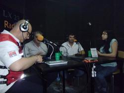 Osvaldo, Sergio, Alejandro y Saray
