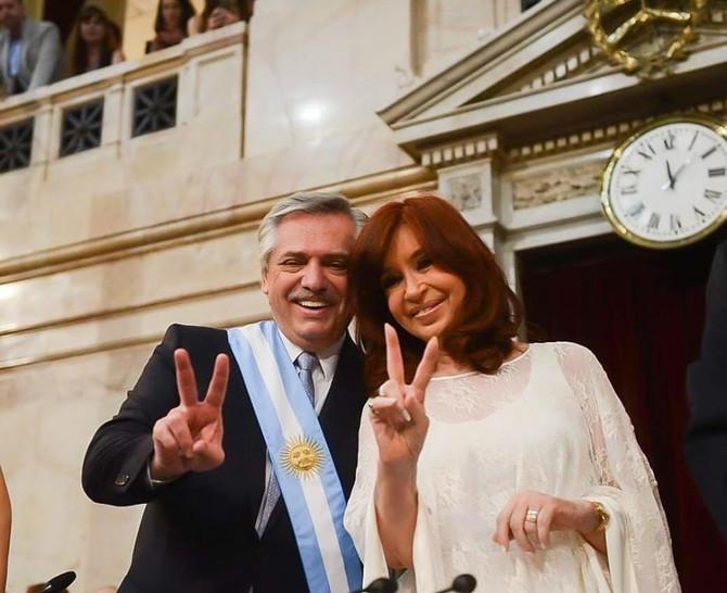 Alberto Fernandez Presidente de los Argentinos