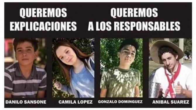 San Miguel del Monte: Mueren 4 jóvenes en confuso incidente