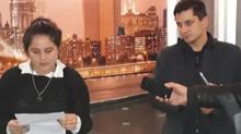 Fernando Perez - Firmo un compromiso con los periodistas locales.-
