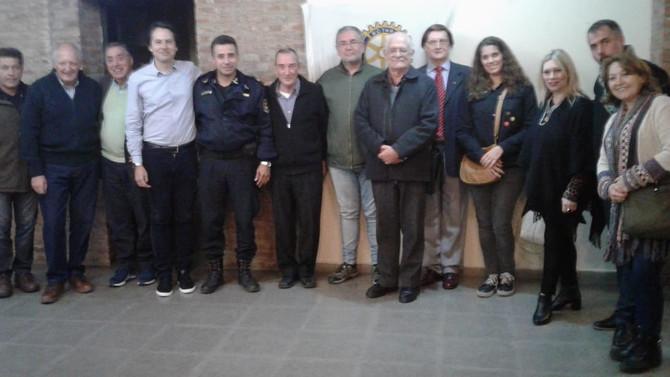 Rotary Club Ezpeleta - Reconoció a Periodistas locales