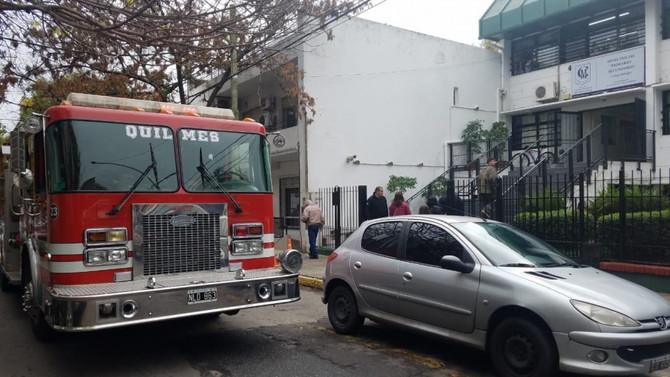 Bomberos rescataron a adolescente con la mano atrapada en una estufa