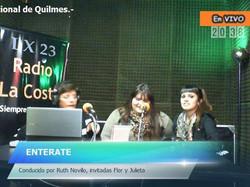 La chicas del Nacional de Quilmes