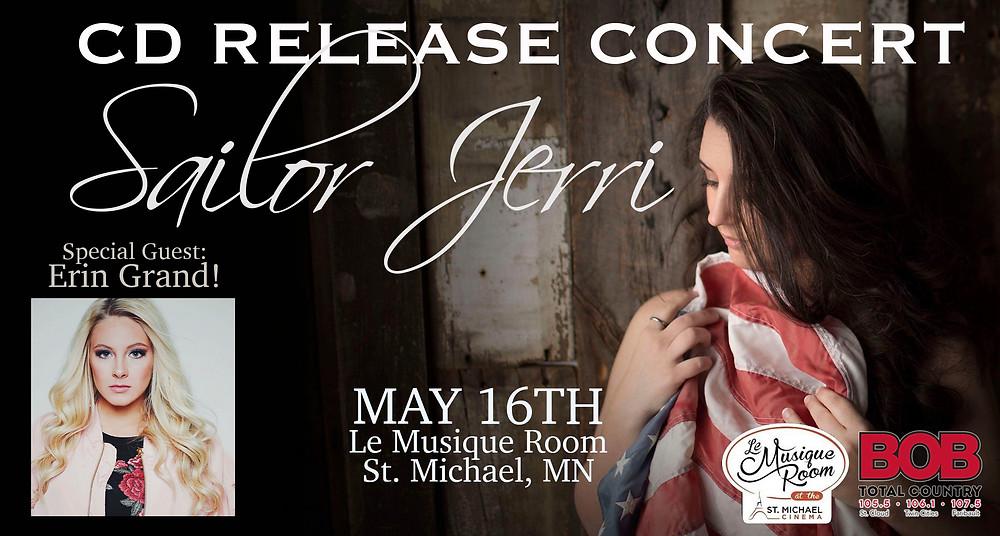 Sailor Jerri Album Release Concert