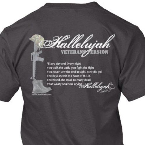 Hallelujah Veterans Version Shirt