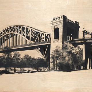 Hell Gate Bridge #1   SOLD