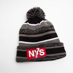 Pom Pom Winter Hat-Fleece lined