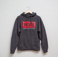 Dark Gray Hooded Sweatshirt