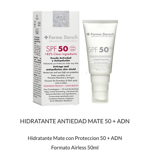 SPF 50 Anti-aging Photoprotector