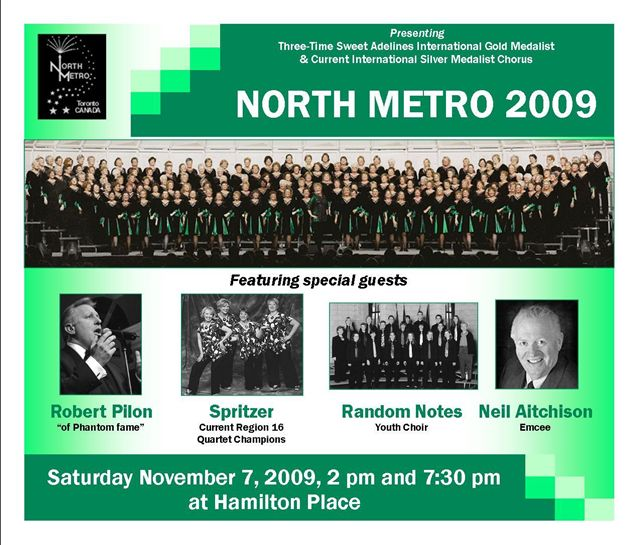 2009 Show flyer  North Metro
