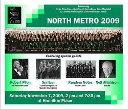 2009 Show flyer  North Metro