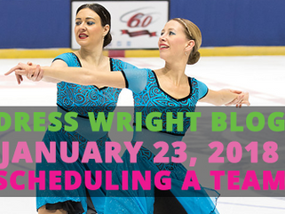 Scheduling a Synchronized Skating Team