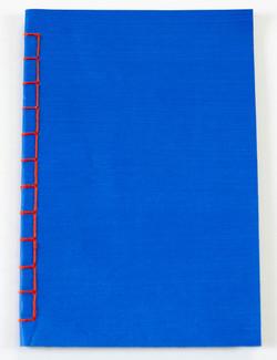 Couverture bleu céruléum