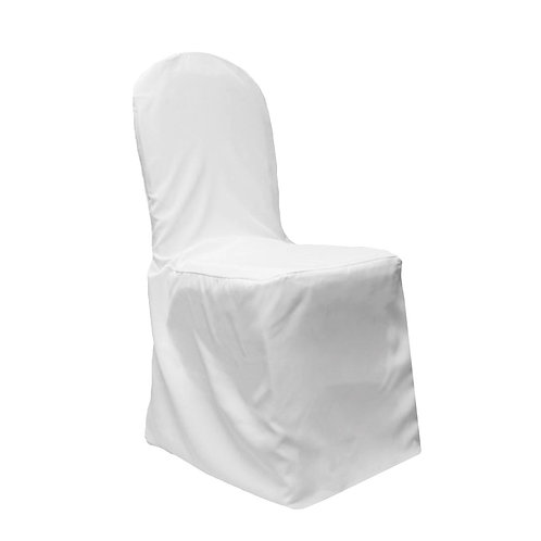 White Stretch Chair Covers