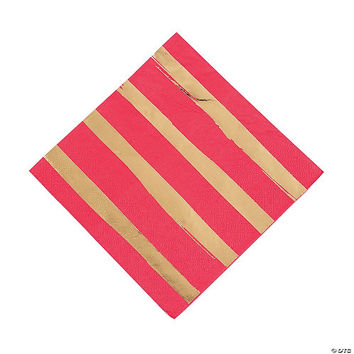 Red & Gold Napkins
