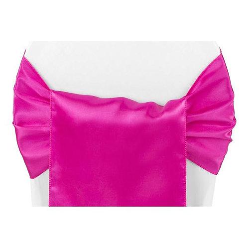 Chair Sash - Pink Stretch Banquet