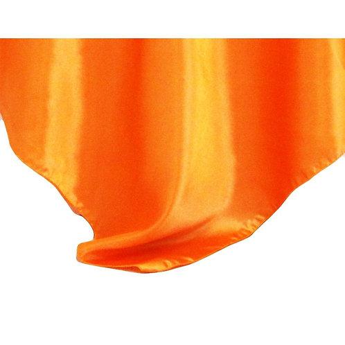 Orange Square Overlay Linen
