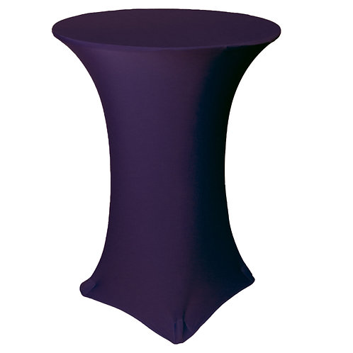 30 Inch Purple Stretch High-Top Covers