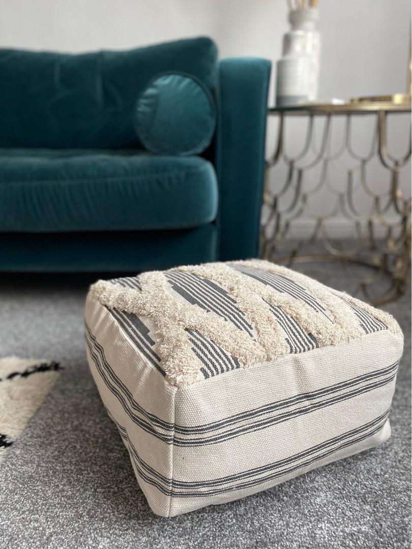 Bohimian floor cushions