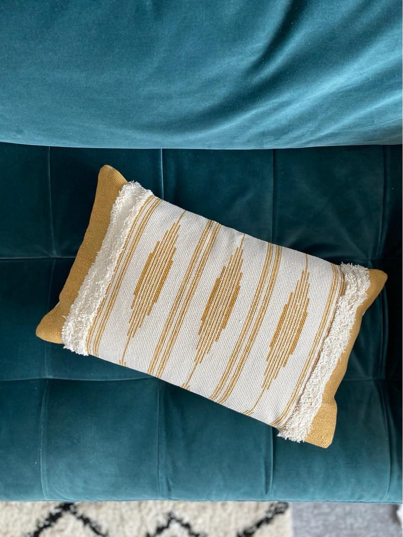 Scandi boho cushions