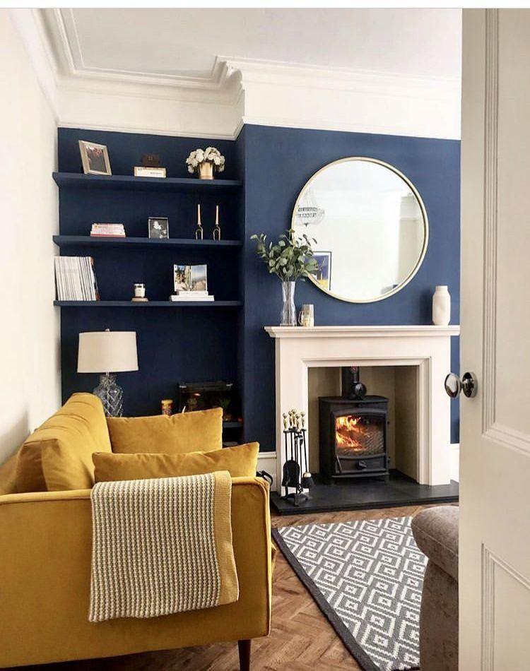 Living room style and decor inspiration, velvet sofa style