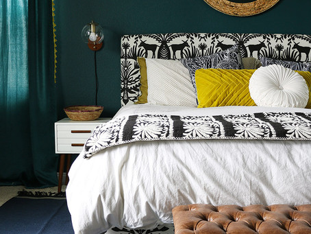 MONDAY INSPIRATION: BOLD BEAUTIFUL COLOURED ROOMS