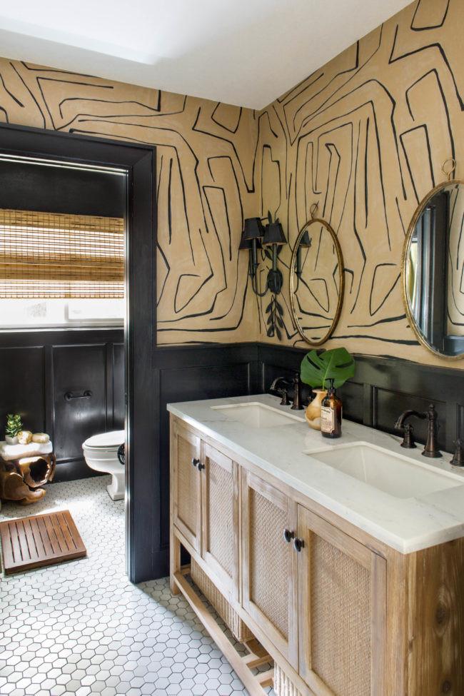 order bathroom decor wallpaper decor ideas