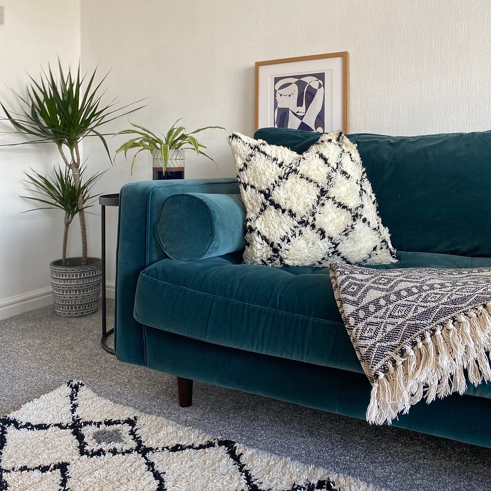 Bohemian inspired cushions and more