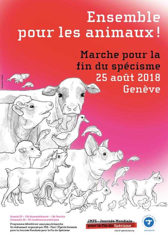 Fin du Spécisme à Genève