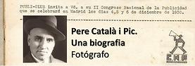 La Font de Sant Francesc recomana Pere Català i Pic