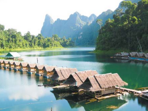 rainforest retreat in khao sok, thailand, 4.-14.april 2018