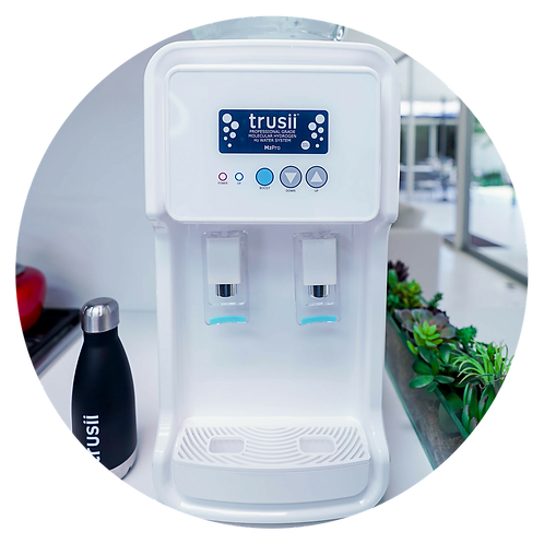 trusii H2ProElite Hydrogen Water System - Front View